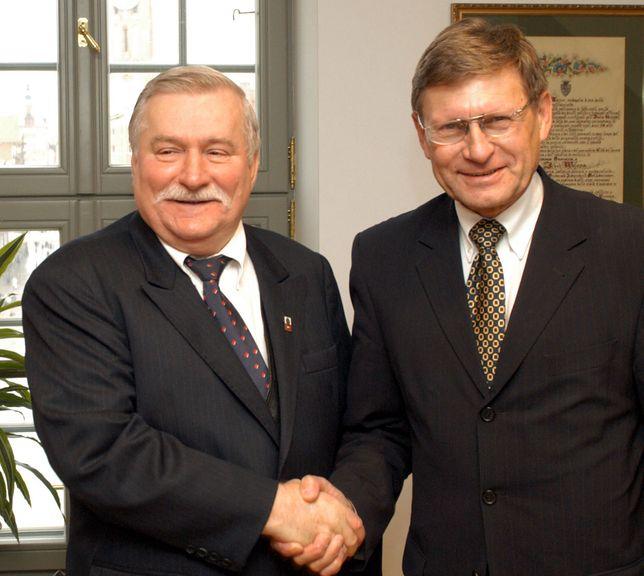 Lech Wałęsa i Leszek Balcerowicz rozmawiają o wolności