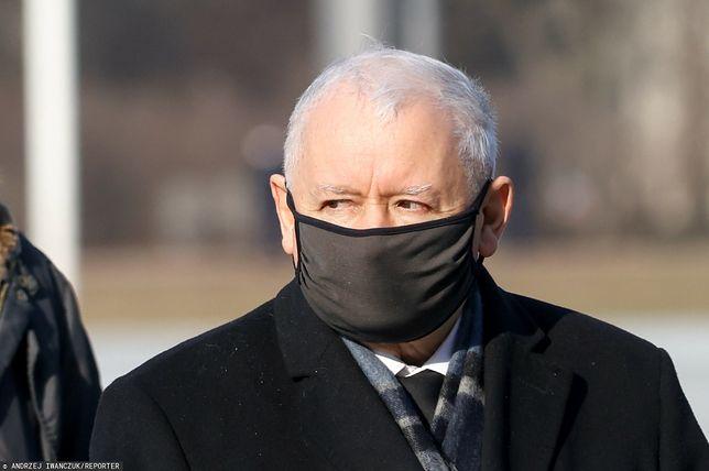 Jarosław Kaczyński, lider PiS