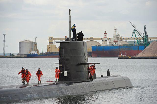 Zatoka Gdańska pełna okrętów wojennych - zdjęcia