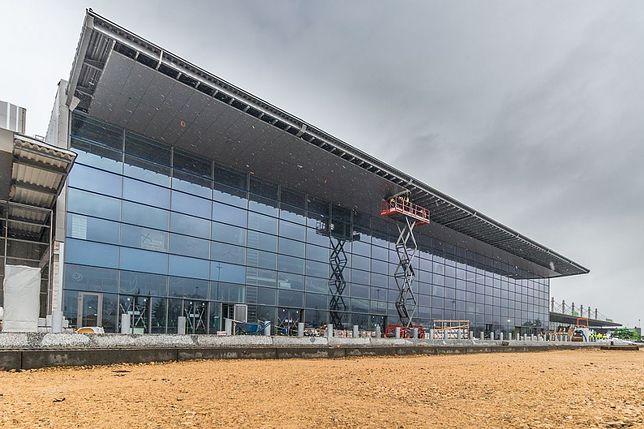 Śląsk. Prace przy przebudowie terminalu B lotniska w Pyrzowicach przebiegają zgodnie z harmonogramem.