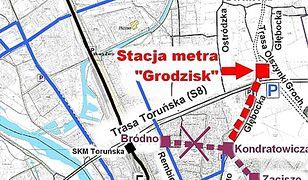 Białołęka walczy o zmianę stacji metra. W internecie pojawiła się petycja