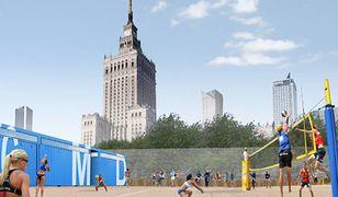 Plaża w centrum Warszawy. Dziś oficjalne otwarcie strefy rekreacyjnej