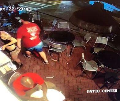 Cała sytuacja została nagrana przez monitoring restauracji