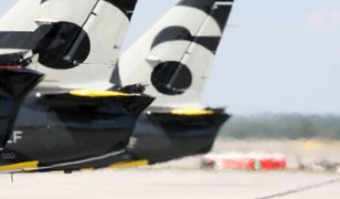Mazowieckie. Awaryjne lądowanie samolotu na lotniku w Modlinie / foto ilustracyjne