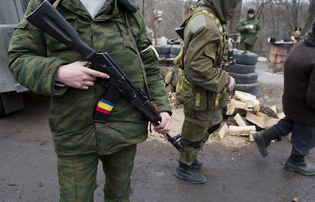 Separatyści z oddziałów Ługańskiej Republiki Ludowej