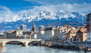 Grenoble - miasto u stóp Bastylii