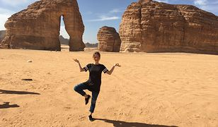 Dominika Legień pracuje jako nauczycielka w Arabii Saudyjskiej i Emiratach Arabskich