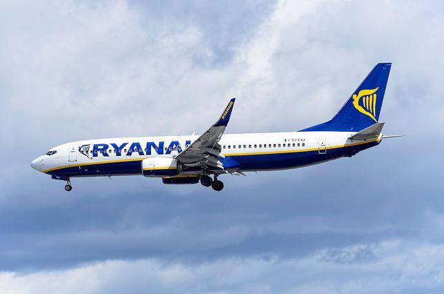 Strajk w tanich liniach lotniczych Ryanair. Odwołane loty
