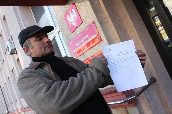 Grzegorz Sowa od kilku miesięcy buntuje się przeciwko niektórym zapisom polskiego prawa