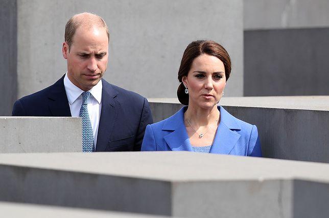 Kate i William odwiedzili berliński Pomnik Pomordowanych Żydów Europy