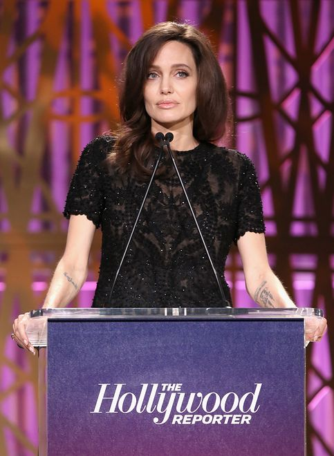 speaks onstage at The Hollywood Reporter's 2017 Women In Entertainment Breakfast at Milk Studios on December 6, 2017 in Los Angeles, California.
