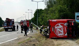 38 osób rannych w wypadku. Zarzuty dla kierowcy