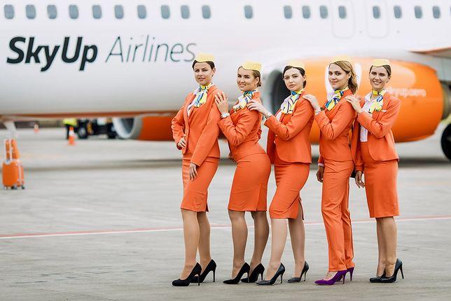 Ukraińska linia lotnicza wprowadziła nowy rodzaj uniformów