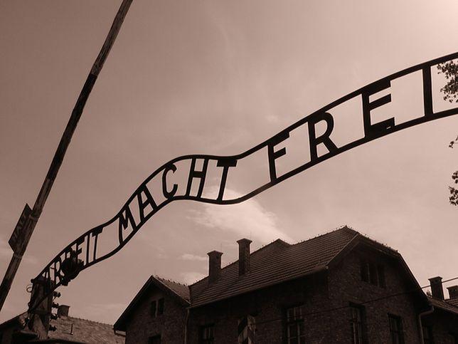 Nagi mężczyzna zatrzymany przed muzeum Auschwitz. Trafił na obserwację