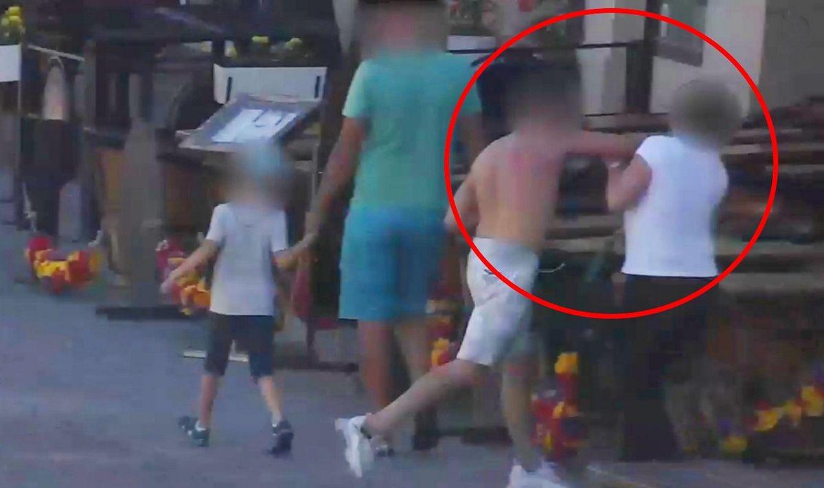 Warszawa. Atak na turystkę na Nowym Świecie