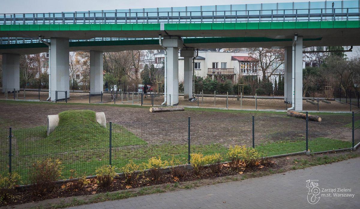 Warszawa. Dog Park został otwarty, fot. Zarząd Zieleni