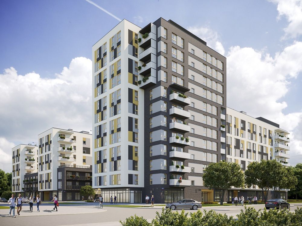 Nowe osiedle YANA na warszawskiej Woli intryguje możliwościami