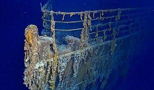 Wrak Titanica w coraz gorszym stanie.