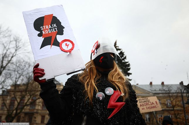 Strajk kobiet. Relacja WP na żywo