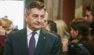 Marek Kuchciński w końcu opuścił prezydencką willę. Były marszałek Sejmu potrzebował trzech miesięcy