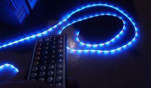 Jak zamontować taśmę LED wokół telewizora?