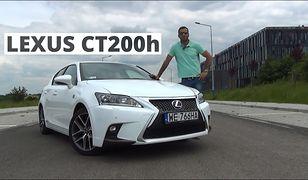 Lexus CT200h e-CVT 136 KM, 2014 - test AutoCentrum.pl #086