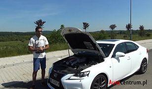 Lexus IS 300h F-Sport 2.5 223 KM, 2014 - test AutoCentrum.pl #089