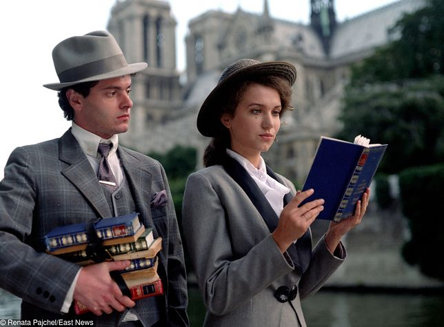 """Kadr z filmu """"Panny i wdowy""""."""