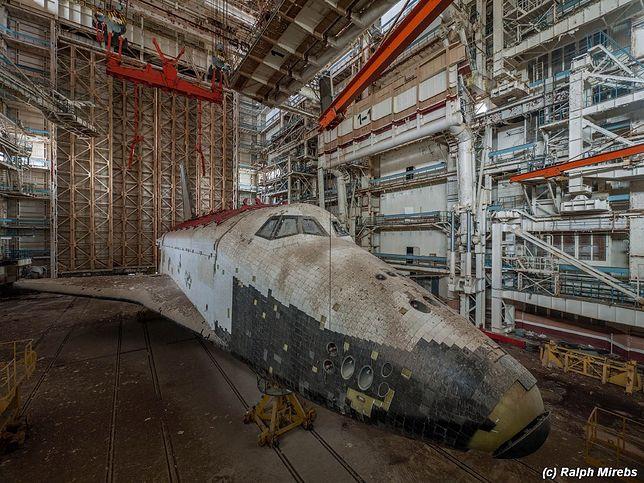 Porzucone wahadłowce Buran - Kosmodrom Bajkonur