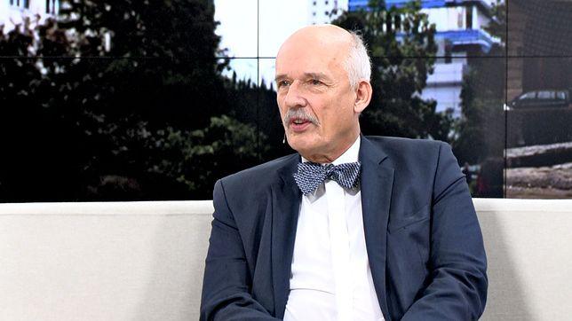 """Janusz Korwin-Mikke o Grecie Thunberg. Nazwał aktywistkę """"siusiumajtką"""" i podważył jej wypowiedź wygłoszoną na szczycie ONZ"""
