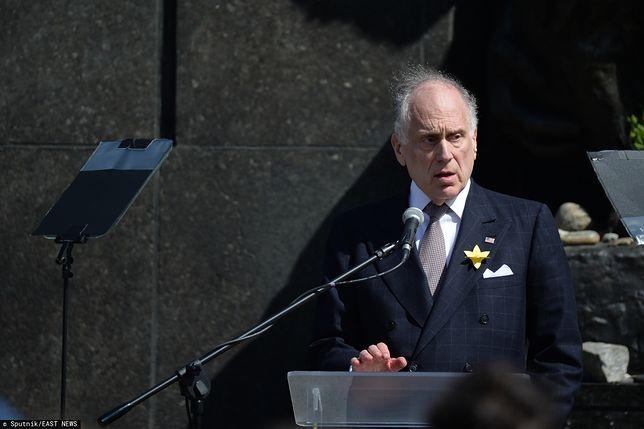 Ronald Lauder, szef Światowego Kongresu Żydów.