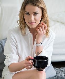 Julia Kuczyńska w reklamie biżuterii Swarovski