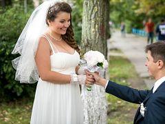 Bardzo przytyła w ciąży. Wybór sukni ślubnej był dla niej dużym wyzwaniem
