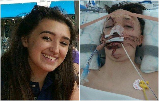 Zrozpaczona matka publikuje zdjęcie córki, którą potrącił van