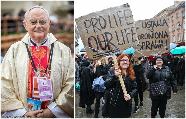 """""""Te dzieci giną w ciszy"""" i """"manifestacje cywilizacji śmierci"""". Ostra odpowiedź Kościoła na """"czarny protest"""""""