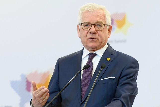 Minister Jacek Czaputowicz nie wyklucza udziału Polski w misji w cieśninie Ormuz