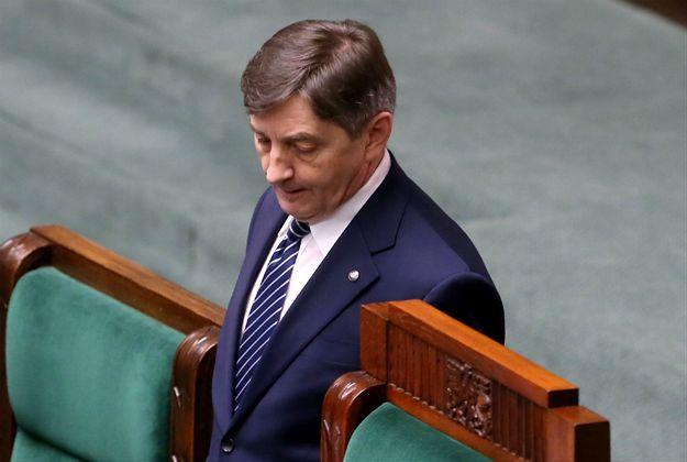 Marszałek Sejmu Marek Kuchciński