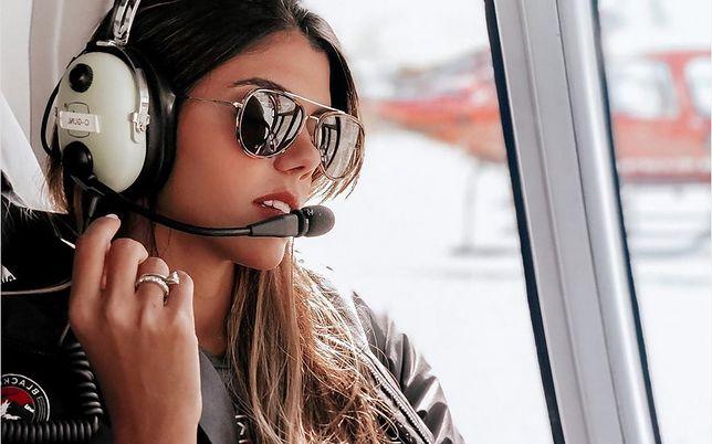 Podniebna królowa Instagrama. Pilot Luana podbija serca internautów