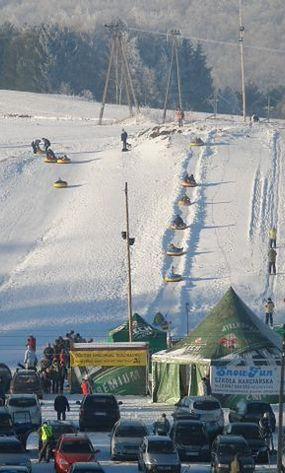Koszałkowo-Wieżyca: narty na Kaszubach