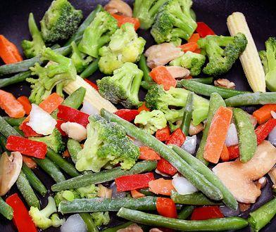 Kolorową i zdrową mieszankę warzywną możemy przygotować samodzielnie