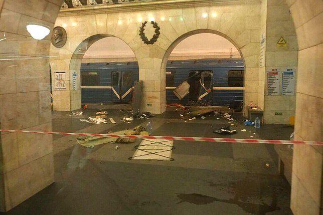 Zatrzymania po ataku w Petersburgu. Osiem osób w aresztach