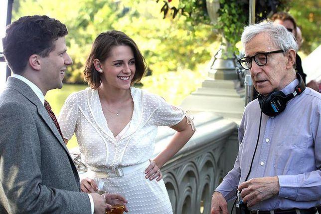 """Woody Allen na planie filmu """"Śmietanka towarzyska"""""""