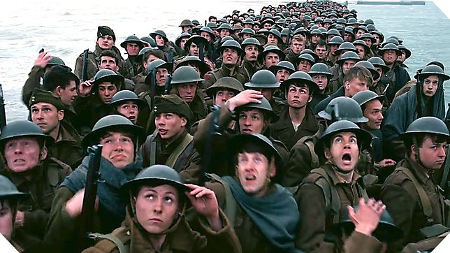 """""""Dunkierka"""" z kategorią wiekową dla 13-latków. Reżyser tłumaczy: """"To nie jest film wojenny"""""""