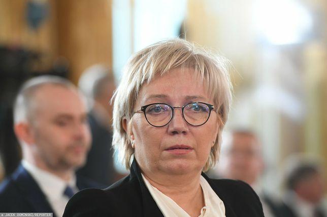 Rezolucja PE ws. aborcji. Julia Przyłębska skrytykowała dokument