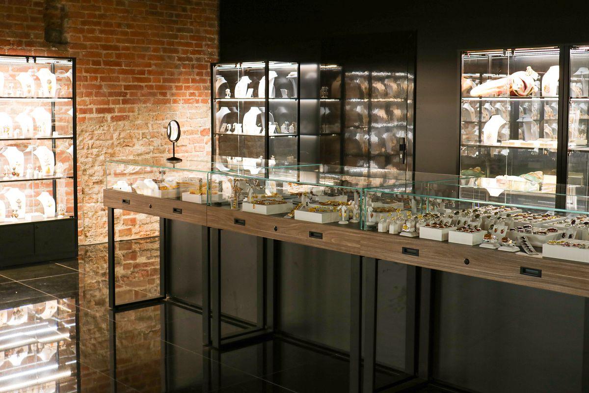 Muzeum Bursztynu w Gdańsku. Można tu obejrzeć 68 kilogramowy bursztyn sumaryjski
