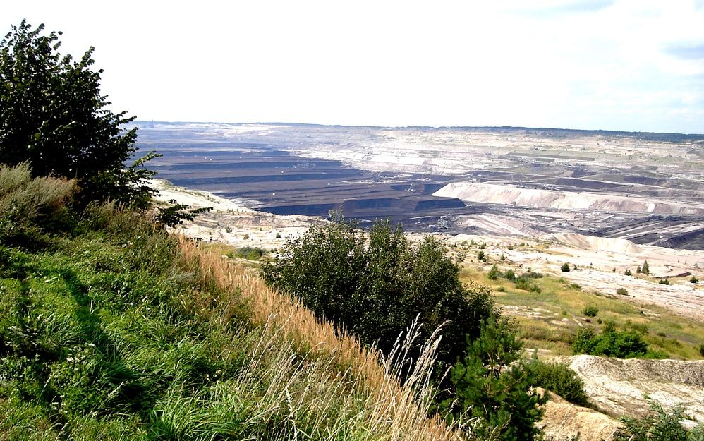 Bełchatów - największa dziura w Europie