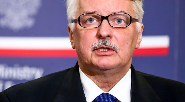Witold Waszczykowski: można zakwestionować wybór Tuska; mamy ekspertyzy. Burza w komentarzach