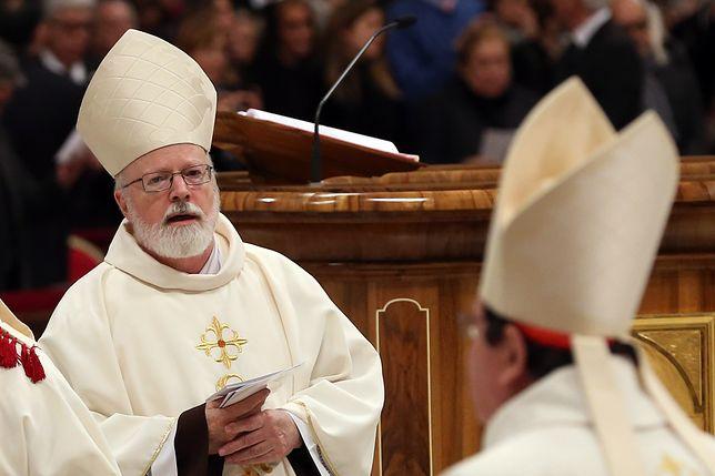 Kardynał O'Malley jest świadomy krytycznych poglądów papieża Franciszka na pedofilię