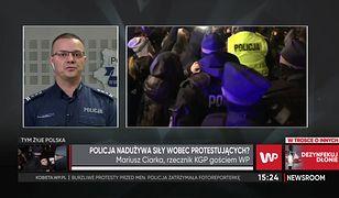 """Strajk Kobiet zmienił taktykę? """"Policjanci nie mogą pozwolić się bić"""""""