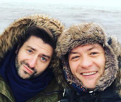 Krzysztof Śmiszek i Robert Biedroń na wakacjach w ubiegłym roku.